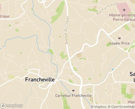 Localisation La Maisonnée SSR Pédiatrique - 69340 - Francheville