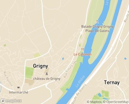 Localisation MECS Le Chalet des Enfants - 69520 - Grigny