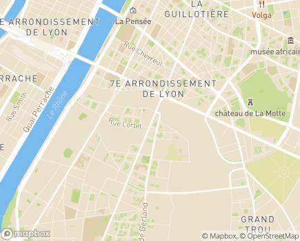 Localisation Association MainTenir - 69361 - Lyon 07