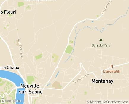 Localisation Maison d'Enfants à Caractère Social Balmont - 69250 - Neuville-sur-Saône