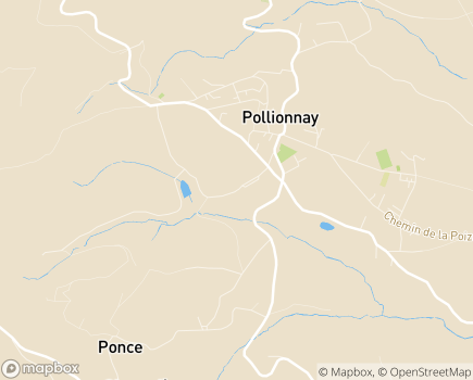 Localisation Korian Les Presles - 69290 - Pollionnay