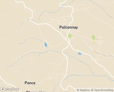 Localisation Korian Les Aurélias - 69290 - Pollionnay