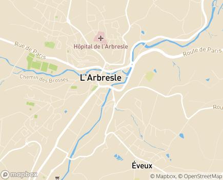 Localisation Institut Thérapeutique Educatif et Pédagogique Clair'Joie - 69210 - L'Arbresle