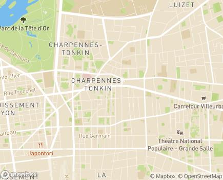 Localisation Emera - EHPAD Eloise - 69100 - Villeurbanne