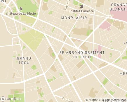 Localisation Korian Saison Dorée - 69008 - Lyon 08