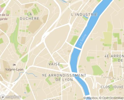 Localisation Ocellia - 69009 - Lyon 09