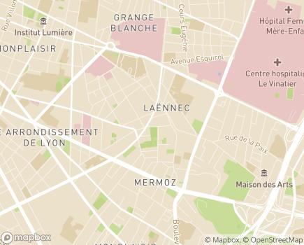 Localisation SAMSAH Groupe Adène - 69008 - Lyon 08