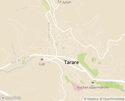 Localisation Résidence Villavie Les Monts Dorés - 69170 - Tarare
