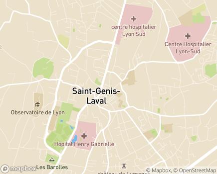 Localisation Domidom - 69230 - Saint-Genis-Laval