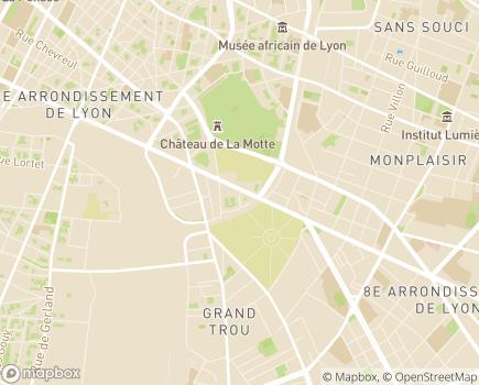 Localisation Résidence Dolce Vita - 69007 - Lyon 07