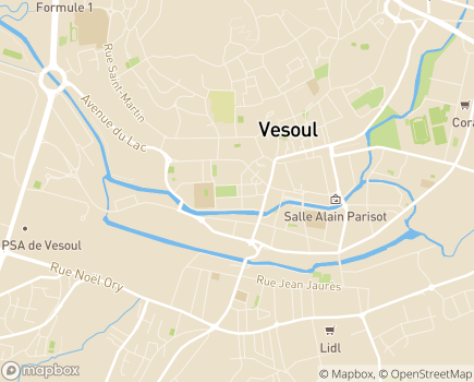 Localisation Direction de la Solidarité et de la Santé Publique (D.S.S.P.) - 70006 - Vesoul