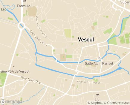 Localisation Mutualité Sociale Agricole - 70021 - Vesoul