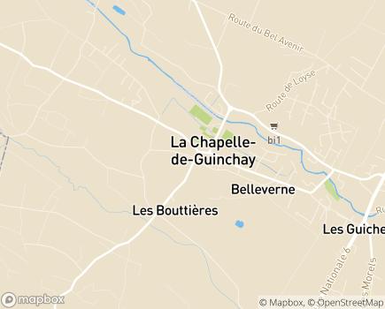 Localisation Le Bocage - 71570 - La Chapelle-de-Guinchay