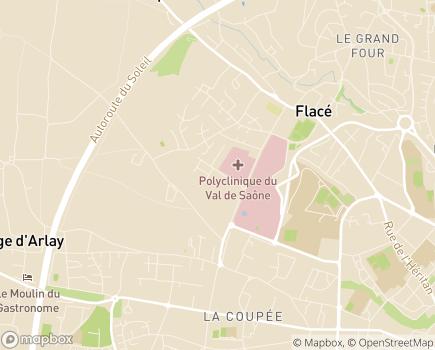 Localisation EHPAD Résidence Marius Lacrouze - 71850 - Charnay-lès-Mâcon