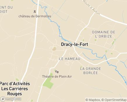 Localisation Colisée - Résidence Akésis - 71640 - Dracy-le-Fort