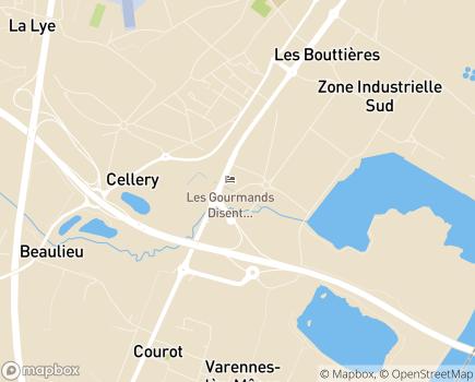 Localisation Complexe Mutualiste André Lacroze (ESAT) - 71000 - Mâcon