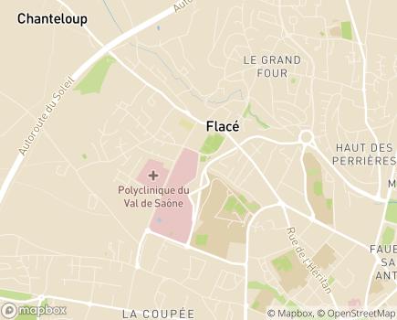 Localisation EHPAD Pierre Pfitzenmeyer - 71018 - Mâcon