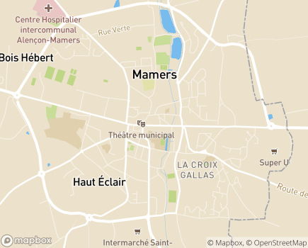 Localisation ADMR Maison des Services Saosnois et Marollais - 72600 - Mamers