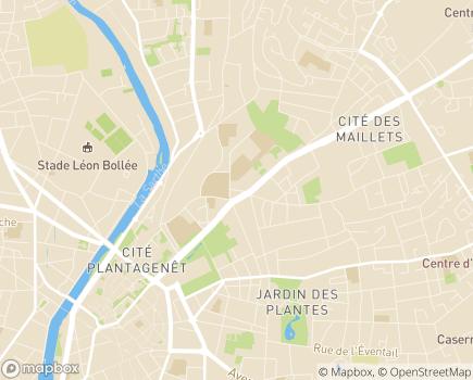 Localisation Résidence Service Renaissance - 72000 - Le Mans
