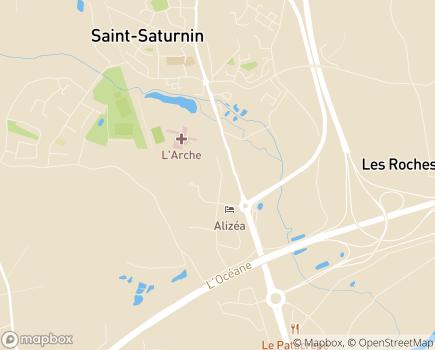 Localisation ADMR SSIAD Services de Soins Infirmiers à Domicile - 72650 - Saint-Saturnin
