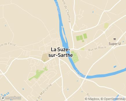 Localisation Proxim'Services - 72210 - La Suze-sur-Sarthe
