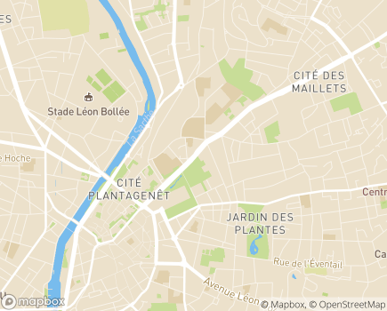Localisation AASP Association d'Aide et de Services aux Personnes - 72000 - Le Mans