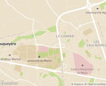 Localisation Domicil + - 72000 - Le Mans