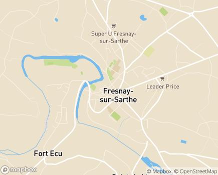 Localisation Maintien ADOM Alpes Mancelles - 72130 - Fresnay-sur-Sarthe