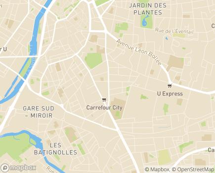 Localisation Résidences Services Seniors Le Chanzy - 72000 - Le Mans
