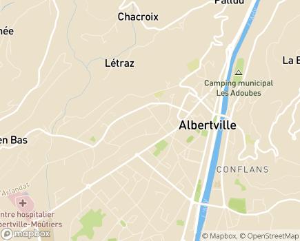Localisation Domitys Le Parc de Jade - Résidence avec Services - 73200 - Albertville