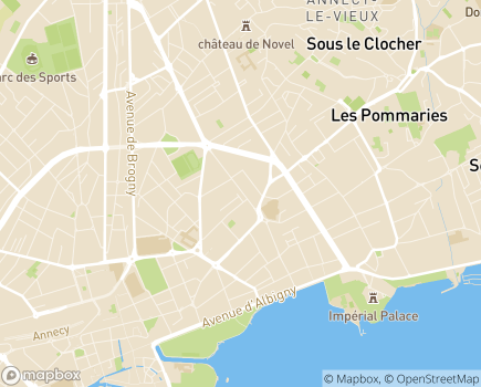 Localisation ADHAP - 74000 - Annecy