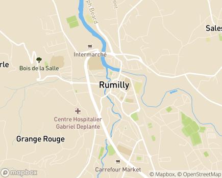 Localisation Domitys Les Deux Lacs - Résidence avec Services - 74150 - Rumilly