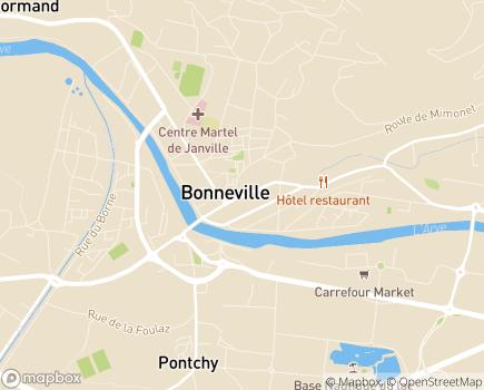 Localisation ADHAP - 74130 - Bonneville