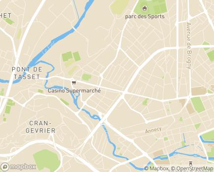 Localisation Capvie Annecy - 74960 - Annecy