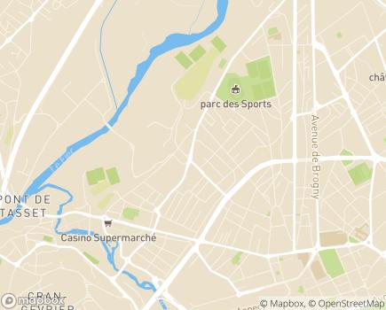 Localisation Répit Bulle d'Air Rhône Alpes - 74000 - Annecy