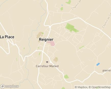 Localisation Résidence Les Terrasses du Grand Genève, Résidence avec Services Ovelia - 74930 - Reignier