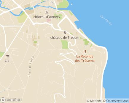 Localisation L'Etape du Semnoz - CHRS/CHU - 74000 - Annecy