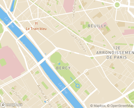 Localisation Foyer Bercy - 75012 - Paris 12