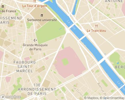 Localisation Hôpital Pitié-Salpétrière (AP-HP) - 75013 - Paris 13