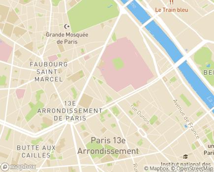 Localisation Maison d'Enfants à Caractère Social Etablissement Jenner - 75013 - Paris 13