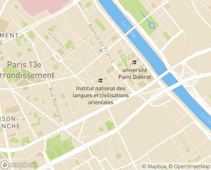 Localisation Armée du Salut CHRS Centre Espoir - 75013 - Paris 13