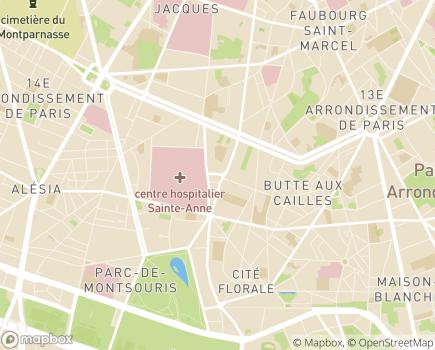 Localisation EHPAD Résidence Saint-Jacques - 75013 - Paris 13