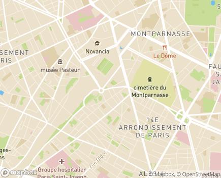 Localisation Hôpital Léopold Bellan - 75014 - Paris 14