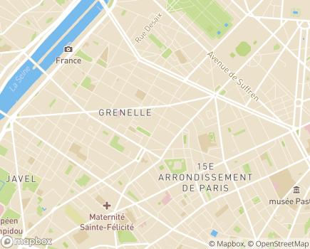 Localisation Famille et Cité - Service d'aide à domicile - 75015 - Paris 15