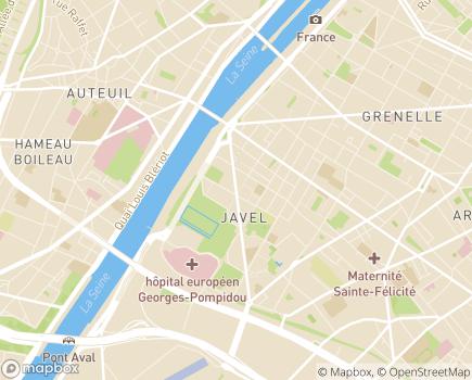 Localisation Club ARIHM - 75015 - Paris 15