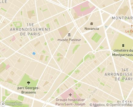 Localisation ESAT Protection Sociale de Vaugirard - 75015 - Paris 15