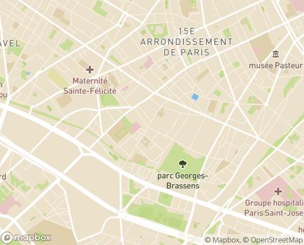 Localisation Association L'Arche à Paris - 75015 - Paris 15