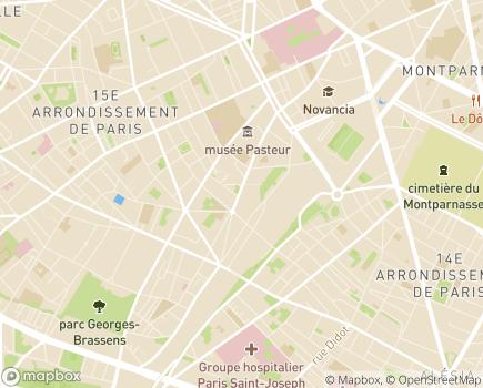 Localisation Foyer d'Hébergement Jean Escudié - 75015 - Paris 15