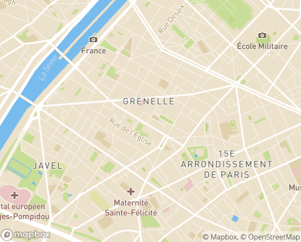 Localisation EHPAD Anselme Payen - 75015 - Paris 15