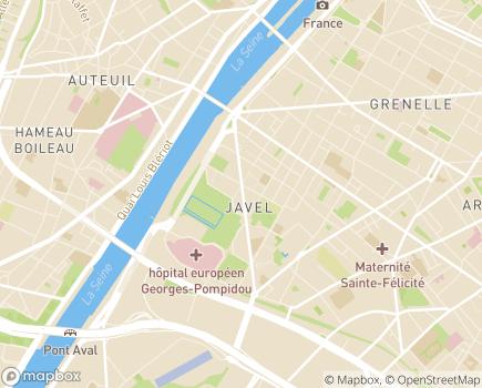 Localisation Résidence services ARPAVIE  Les Jardins Mirabeau - 75015 - Paris 15